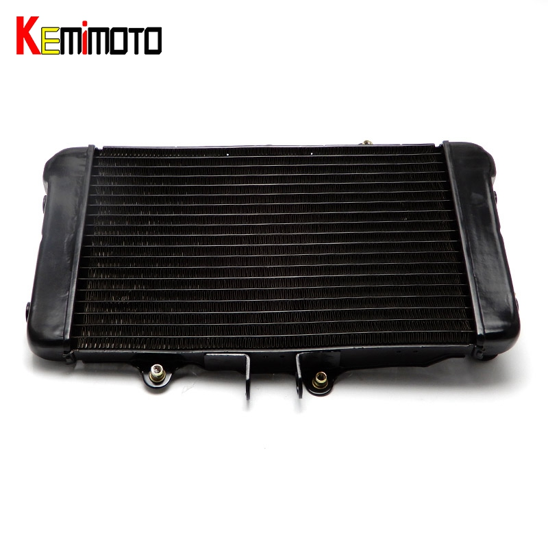KEMiMOTO Bors400 Bros 650 NTV650 Motorcycle Cooler Radiator Cooling For Honda Bors400 1988 1989 1990 Bros 650 NTV650 motorcycle accessories cooling aluminum cooler radiators for honda bros 650 ntv650 1988 1989 1990