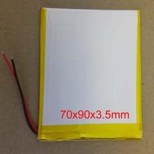 """Полимерная литий-ионная аккумуляторная батарея 3500mAh 3,7 V для """" AOSON M701FD/Digma Optima 7,07 7,77 HT7070MG HT7071MG планшета"""