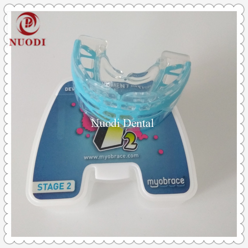 Orthodontic teeth trainer T2 Class II malocclusion/MRC Orthodontic Braces T2 ages 10-15/Deep bite teeth trainer appliance T2