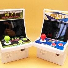 180 в 1 Rertro мини аркадная игровая консоль Ручной игровой плеер для Nes игр с 180 встроенными играми игрушки для детей