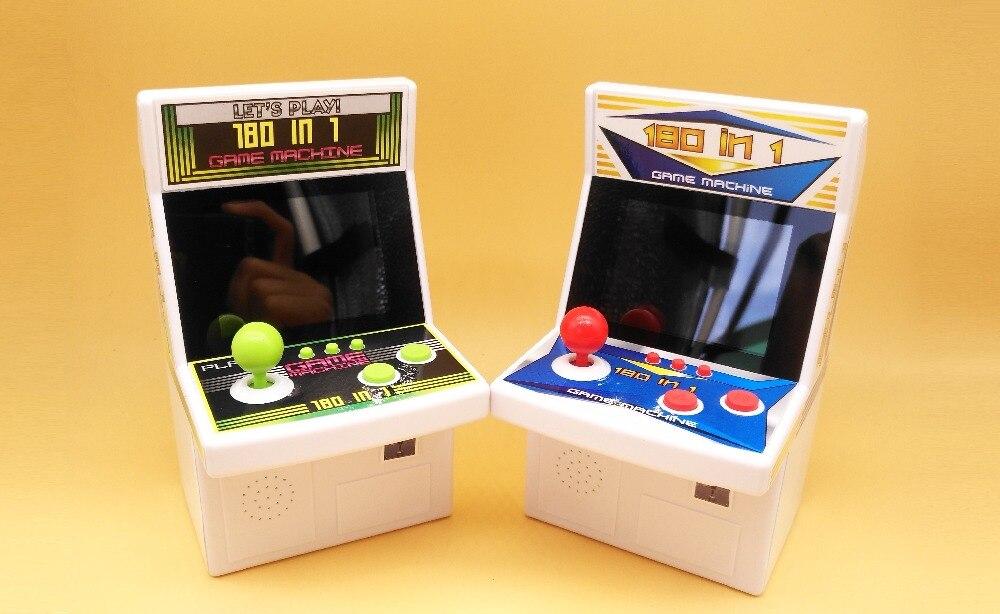 180 em 1 Rertro Mini Jogador Handheld Do Jogo para Jogos de Nes Arcade Game Console com 180 Jogos Internos Brinquedos para crianças