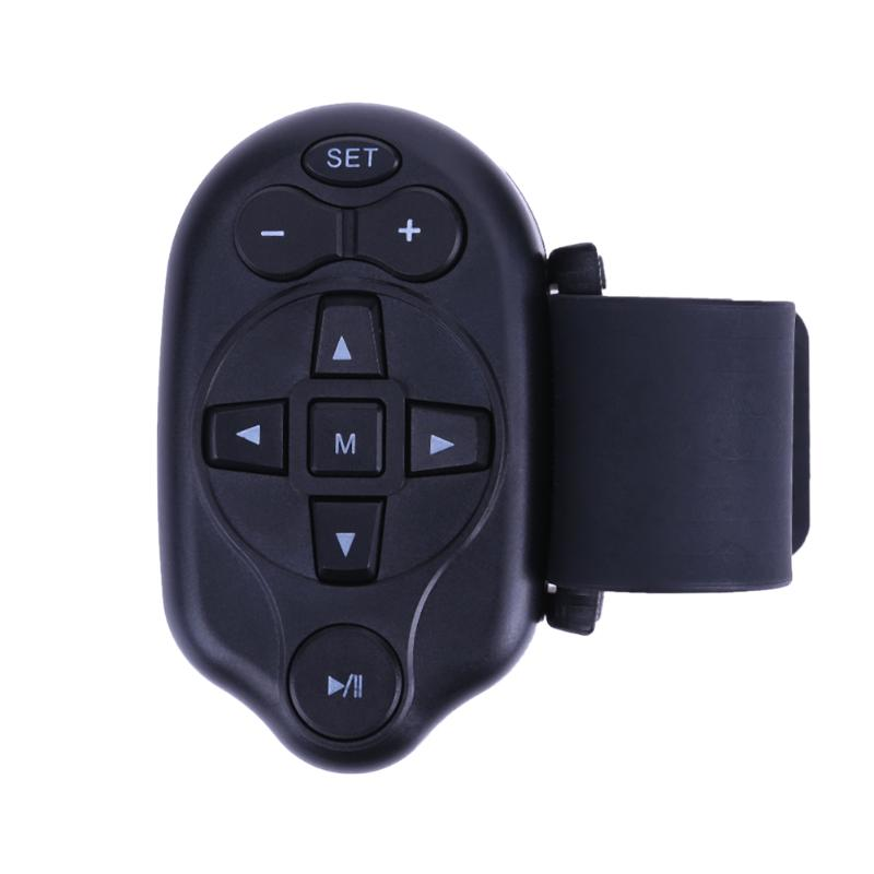 Universal IR Wireless Car Steering Wheel Remote Control Car Hands-free Media CD DVD MP3 Universal Steering Wheel Remote Control