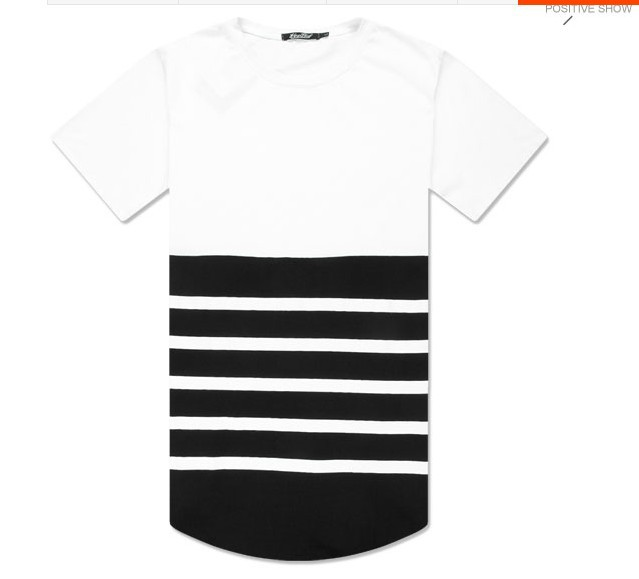 2556e515d9e extender Tee Long Length Oversized T Shirts Sweatshirts Tee Kanye west CoCo  New Styles Men women Homme et femme T shirt Shirts-in T-Shirts from Men s  ...