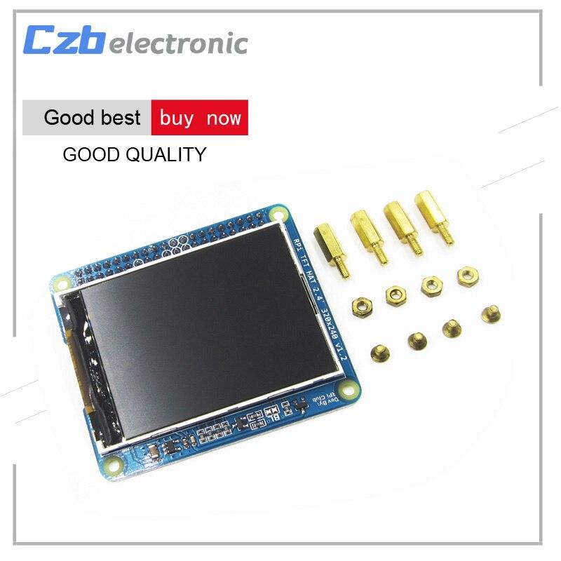 2.4 дюймов высокая PPI ЖК-дисплей TFT Экран Дисплей модуль 320×240 резистивный Панель щит с Шурупы для Raspberry Pi 3 Модель B, 2