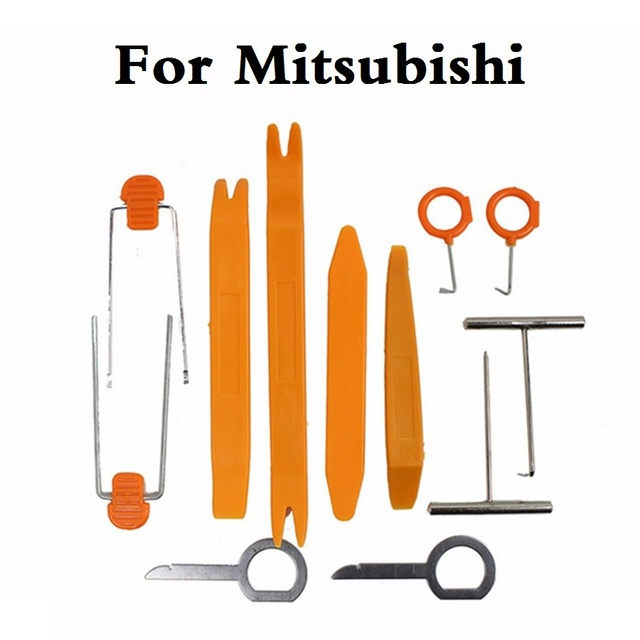 new 12pcs Disassembly Tool Car styling Accessories For Mitsubishi