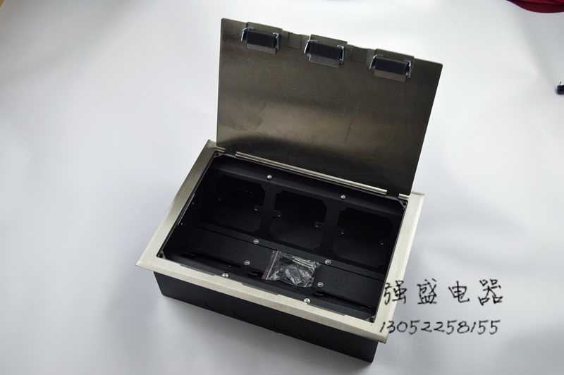 6 Gang Floor Box for 86 Faceplate