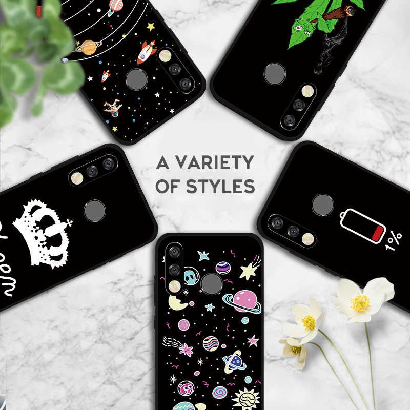 Untuk Huawei Y7 Y5 Y6 Prime 2018 Y9 Y6 Y7 Pro 2019 Pola Yang Indah Silicone TPU Cover untuk huawei Nova 4 3 3i 2i Fundas