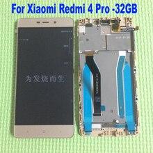 Высокое качество для Xiaomi Redmi 4 Pro ЖК-дисплей дисплей Сенсорный экран планшета в сборе с рамкой для Hongmi 4 Pro Премьер Замена