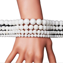 Natural White Lotus Carving Tridacna Shell Stone Buddha Prayer Beads For Jewelry Making DIY Bracelet Necklace 6 8 10 12 mm