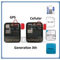 Gps + Сотовая связь оригинал для Apple Watch, версии 3, ЖК дисплей Дисплей Сенсорный экран планшета Series3 S3 38 мм/42 мм инструменты для ремонта подарок