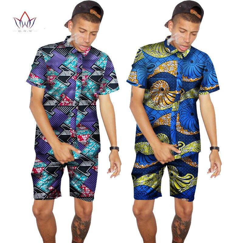 Buy 2017 Custom Traditional African Clothing Summer Men Short Sleeve Shirts