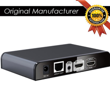 A Pair 120M HDbitT HDMI Extender with HDMI Loop-out Transmitter and Receiver  by CAT5/5e/6 cable  up to 120 meters