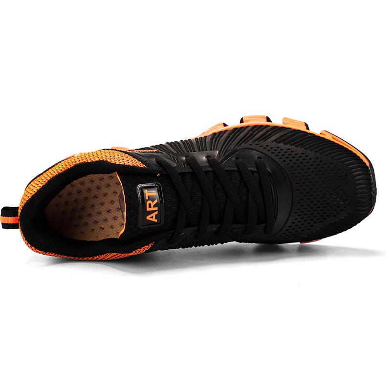 Hombres Tenis Hommes Marque Zapatillas Sneakers Heinrich Mode Noir De Casual Respirant Adulto Masculino orange rouge Chaussures 8AAd7wq