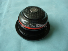 H385EC Headset Carbon Headset 10mm 1.125″ 1.5″ Tapered Headset Tube Threadless Carbon Spacer Carbon Top Cover