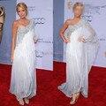 Dac1830 - Gossip Girl Blake Livel um ombro andar de comprimento do vestido da celebridade