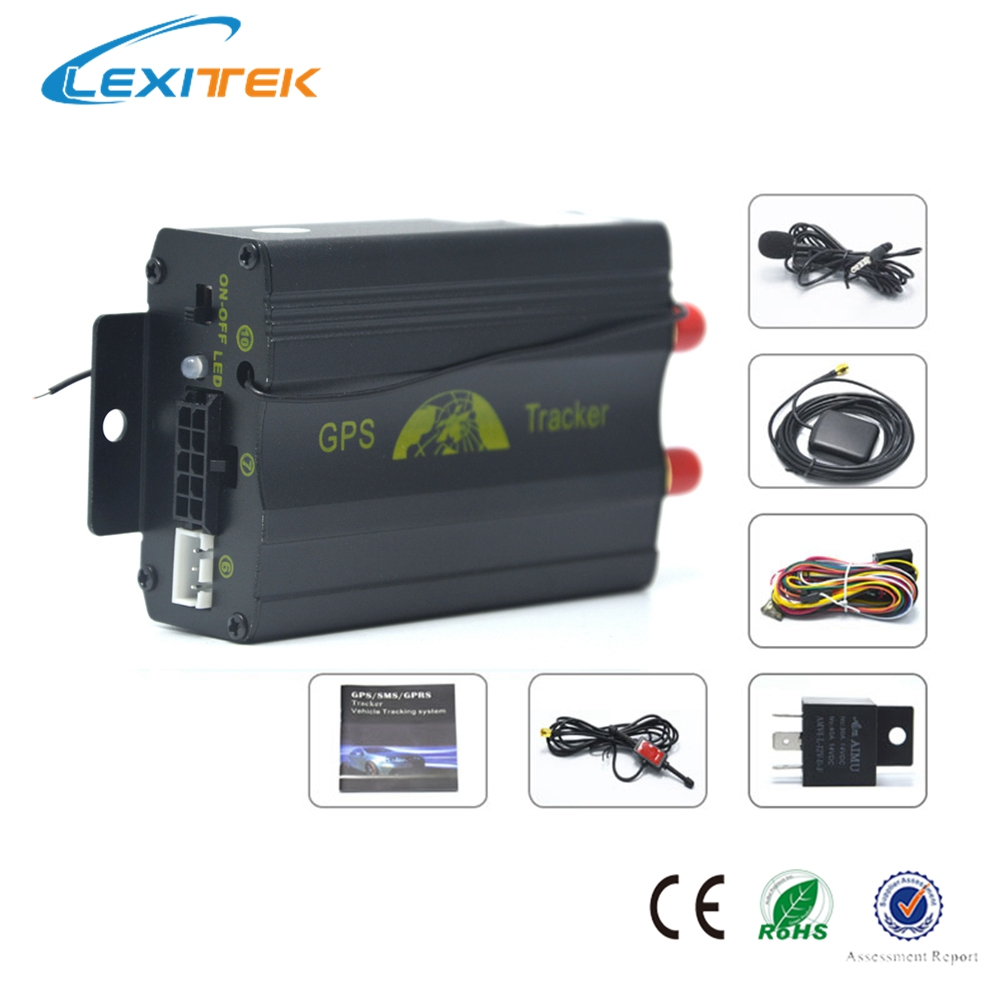 tk103b vehicle car gps tracker car alarm gps with shock. Black Bedroom Furniture Sets. Home Design Ideas