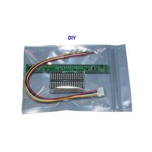 Image 5 - Стереоусилитель Singel, 32 уровня, VU метр, плата, индикатор музыкального спектра, Регулируемый светильник с AGC