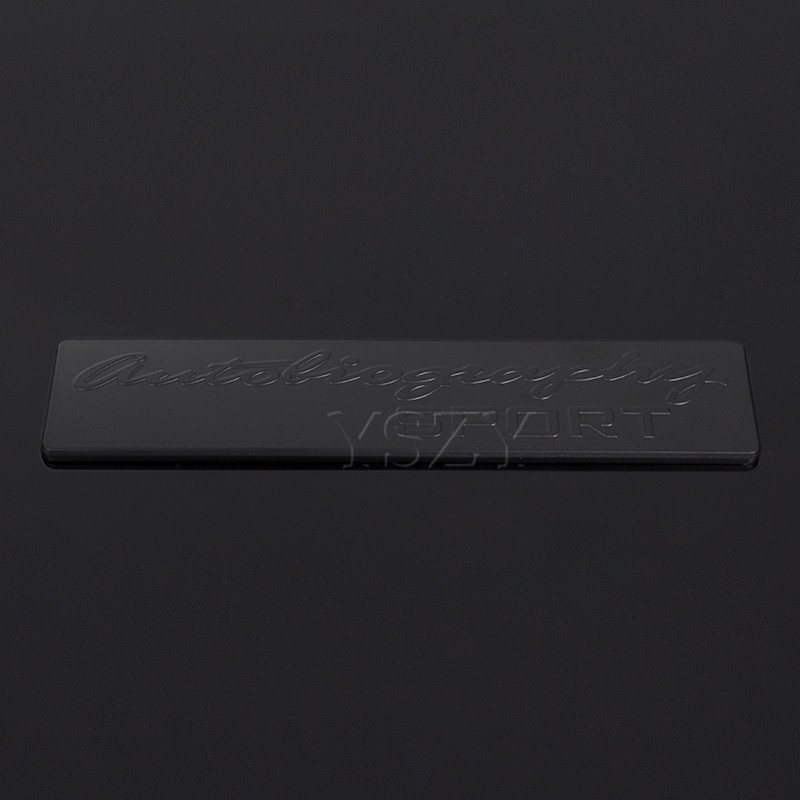 Fashion Metal Car Stickers Emblem Auto Badge Decal for Land Rover Ranger Rover L405 Sport Autobiography Evoque Freelander Color Name: Silver