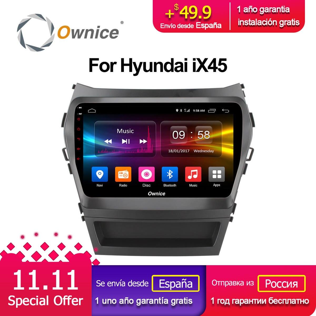 Ownice C500 + G10 Octa 8 Core android 8.1 lecteur dvd de voiture Pour Hyundai Santa FE IX45 2015 2016 2017 stéréo de voiture radio gps navigation