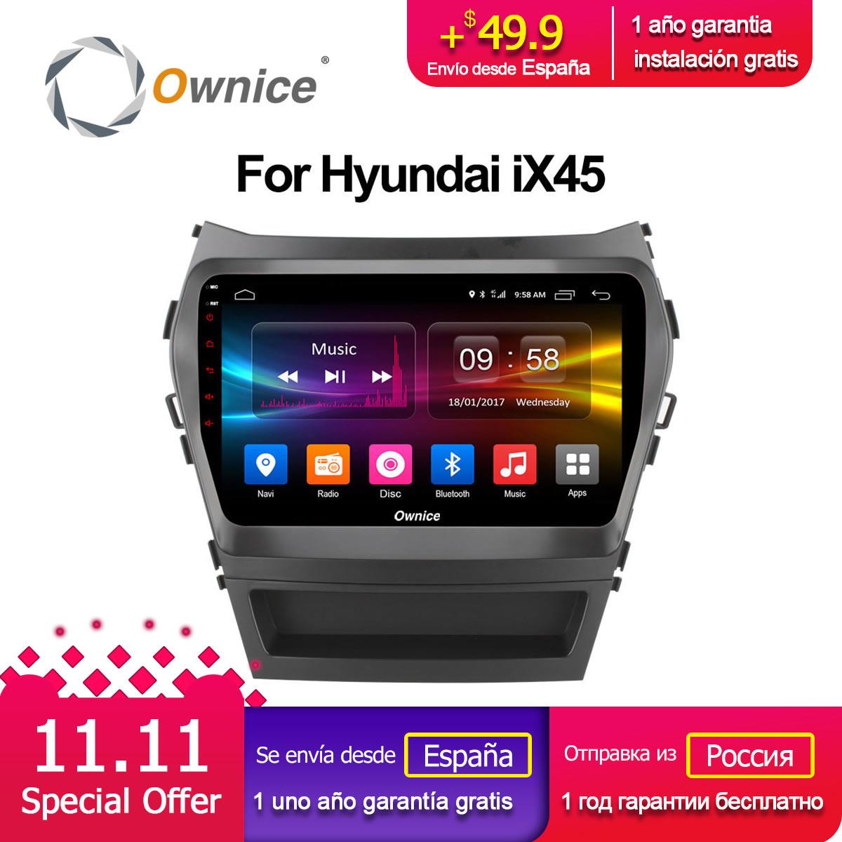 Ownice C500 + G10 Octa 8 Core android 8.1 auto dvd player Für Hyundai Santa FE IX45 2015 2016 2017 stereo auto radio gps navigation