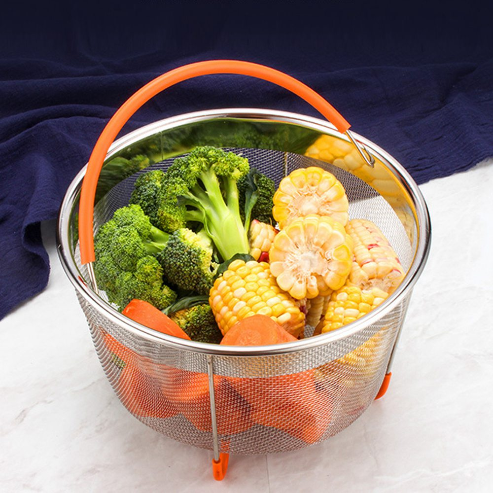 Rice Cooker Steam Basket 304 Stainless Steel Original Sturdy Steamer Pressure Cooker Kitchen Tool Accessories