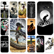 028FG Amazing mountain bike Bicycle MTB Soft Silicone Tpu Cover phone Case for Samsung a3 a5 2017 a6 plus a7 a8 2018 s6 7 8 9(China)
