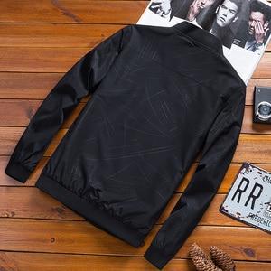 Image 2 - 2020 Brand Clothing Mens Baseball Jacket Fashion Outwear Bomber Jacket Men Spring Autumn Warm Jackets Slim Fit Casual Overcoat