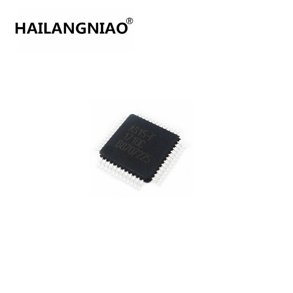 Hot Sale   5PCS   NEW   AS15-F   AS15F   QFP48    IC  CHIP