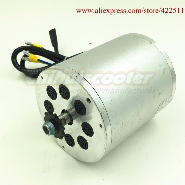 Motor eléctrico de CC sin escobillas, 1600W, 48V, 1600W, Motor BLDC, Motor sin escobillas (piezas de Scooter)