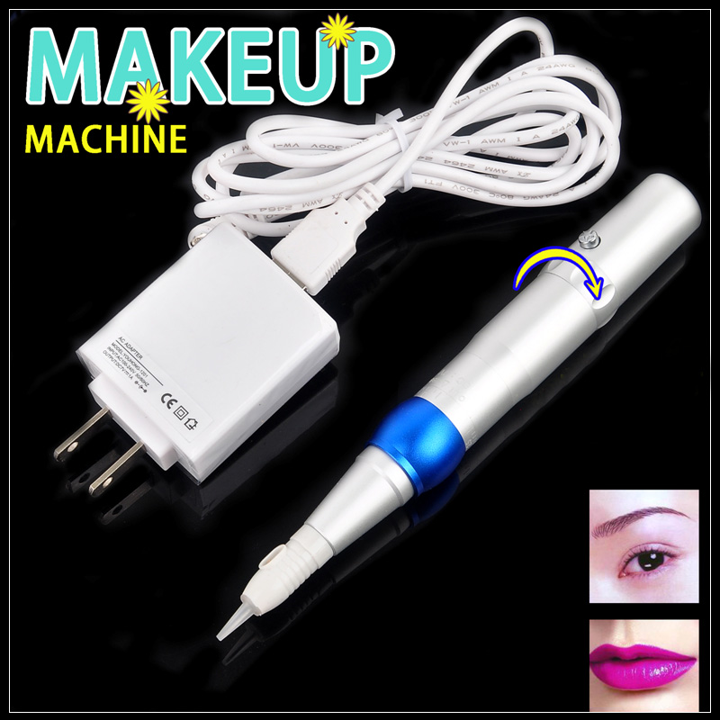 Professional Permanent Makeup Machine Electric Eyebrow Lips Tattoo Machine Pen electric makeup eyebrow lips pen permanent makeup machine rotary tattoo machine gun with swiss import motor