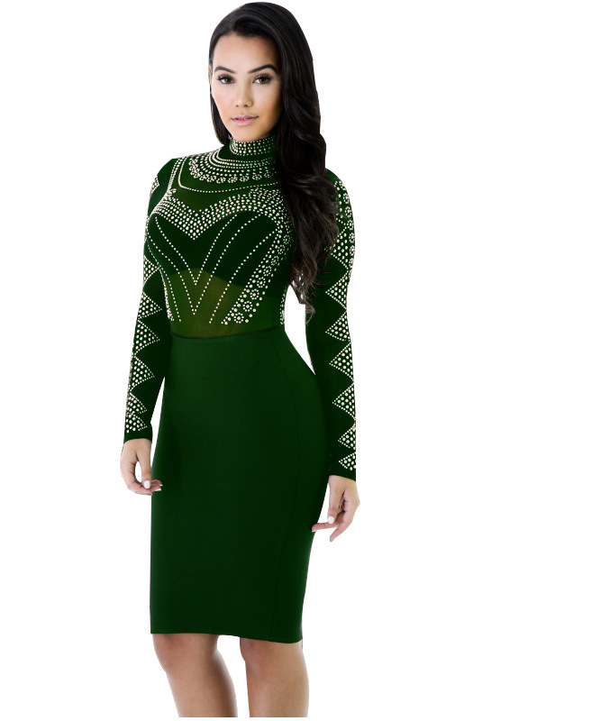 Buy long sleeve tight sequin dress and get free shipping on AliExpress.com b28d09ed3abd