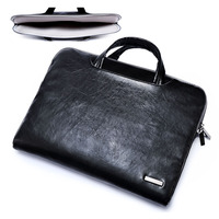 High Quality PU Laptop Handbag With Small Case For 11 6 13 3 15 6 Soft