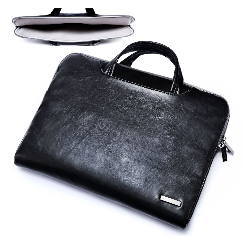"""2019 new brand PU leather Laptop handbag sleeve case For 11""""11.6"""" 13""""15"""" 15.6""""for macbook 13.3 inch air pro retina,free shipping"""