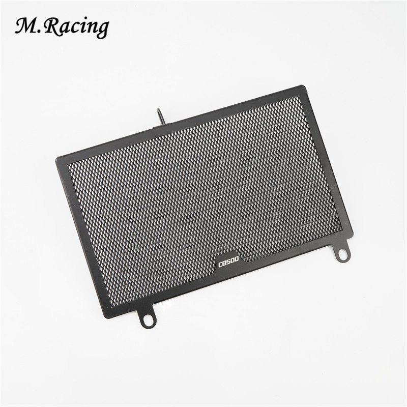Motorcycle Aluminum Radiator Guard Cover Grill Guard For CB500F CB500X 2013-2015 the white guard
