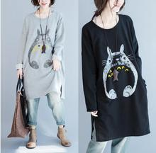 My Neighbor Totoro – Korean Style Long Totoro Sweatshirt – 2 Colors Available