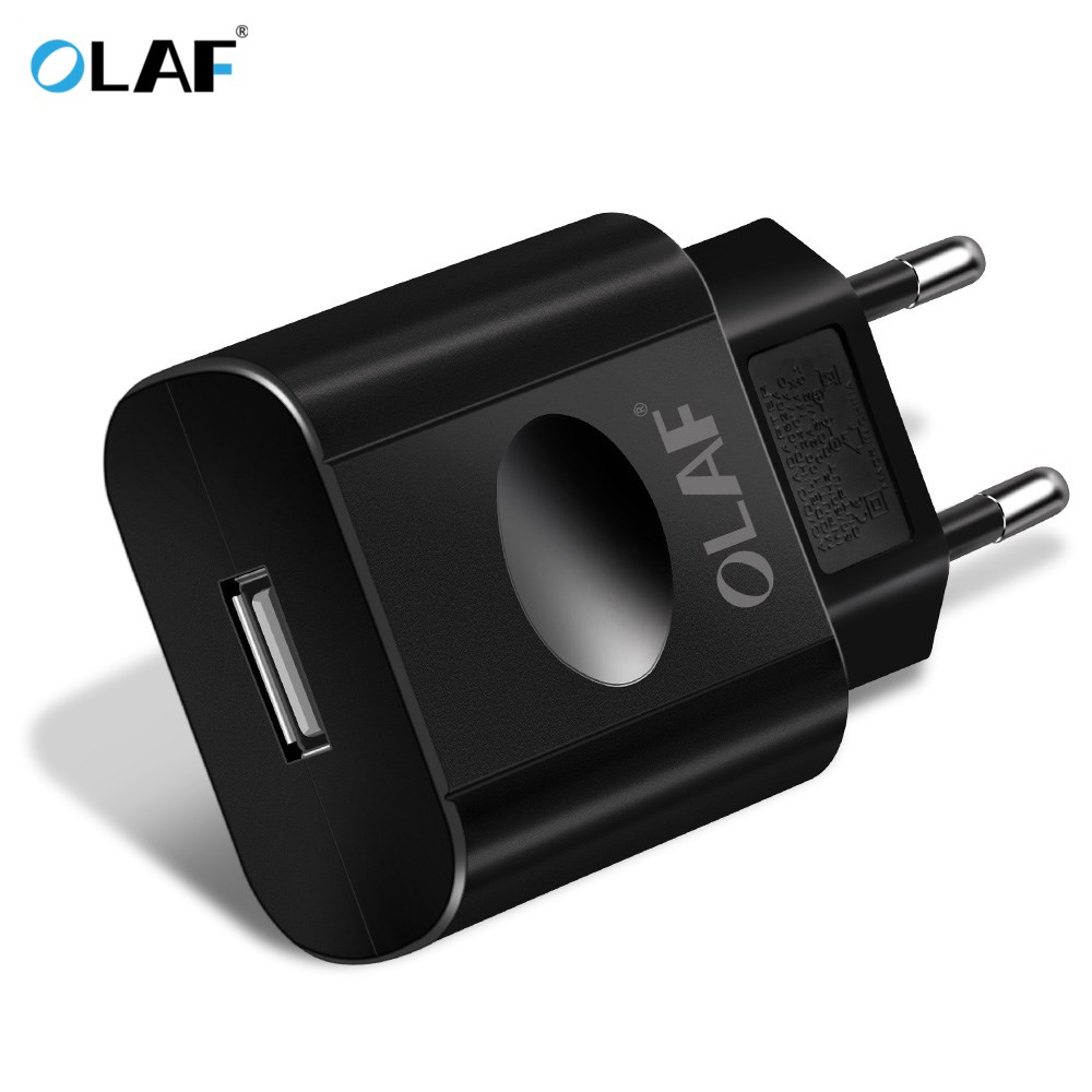 OLAF EU Plug USB <font><b>Charger</b></font> 2A Fast Charging Wall Adapter For Xiaomi Redmi Note 4X 5 Universal Mobile Phone <font><b>Chargers</b></font> For Samsung J7 image
