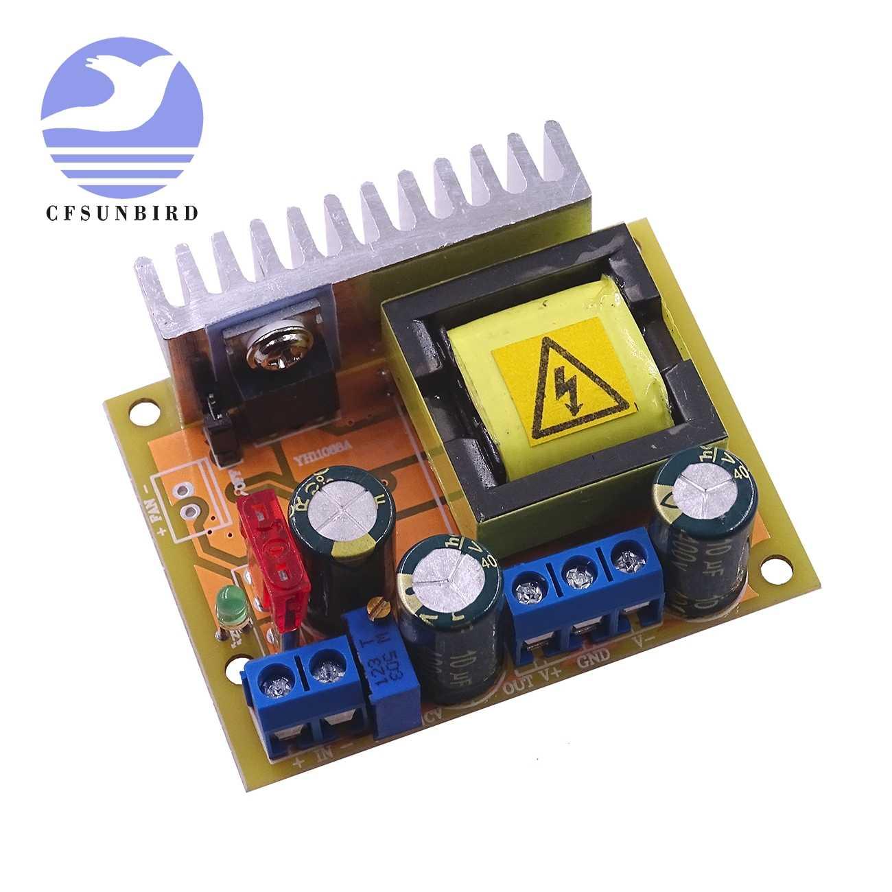 High Voltage DC-DC Boost Converter Voltage Regulator 8-32V 12V to ±45V-390V B2AE