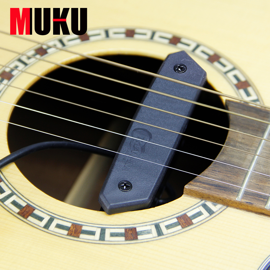 Micro-trou magnétique T-901 doublé de mousse absorbant les chocs et de porte-crochets de guitare à réponse moyenne