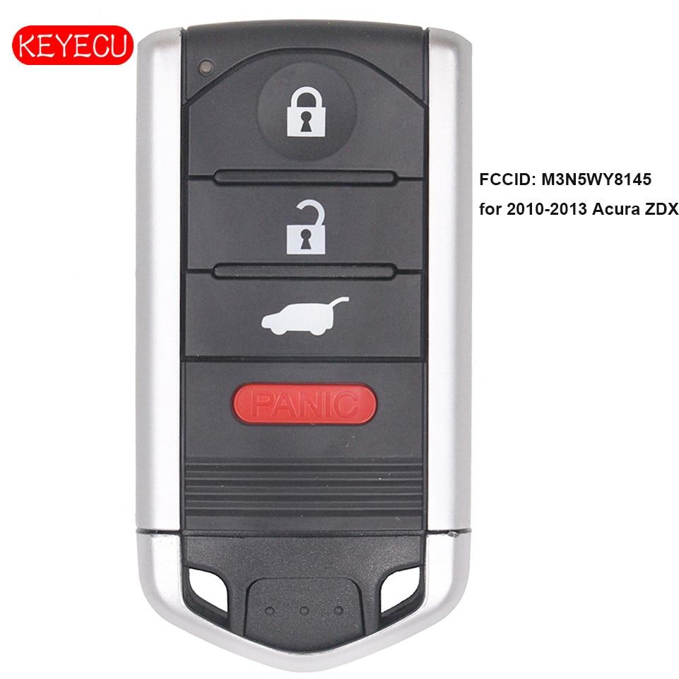 Acura Zdx 2013: Keyecu OEM Smart Remote Key Fob 4 Button 313.8MHz For 2010