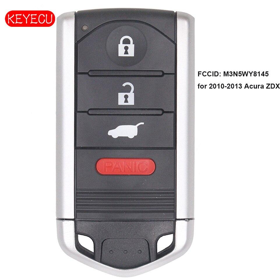 Keyecu OEM Smart Remote Key Fob 4 Button 313.8MHz For 2010