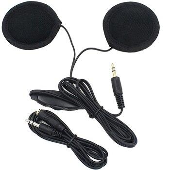 Motorbike Motorcycle Helmet Headset Speakers 3.5mm jack Earphone Headphone Speaker for Motorcycle Helmet Interphone MP3/GPS