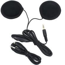 Motorbike Motorcycle Helmet Headset Speakers 3 5mm jack Earphone Headphone Speaker for Motorcycle Helmet Interphone MP3