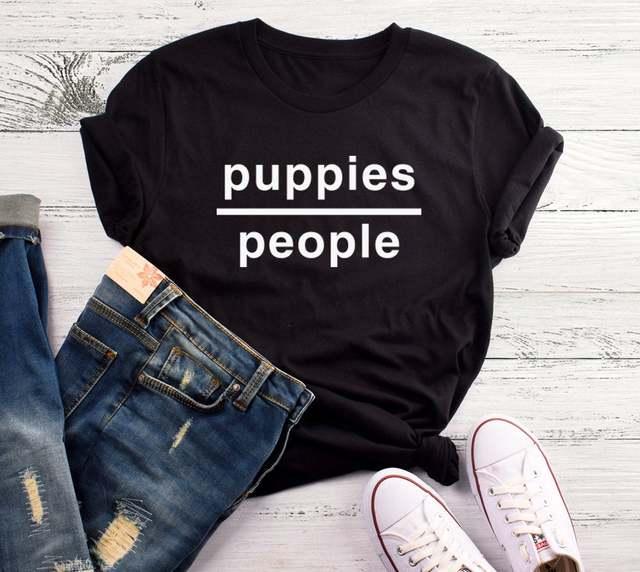 Puppies People Women Tshirt...