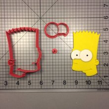 Cartoon Series Homer Marge Cookie Cutter set Fondant Cupcake Top Custom Made 3D Printed Set Cake Decorating Tools