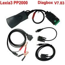 Herramienta de Diagnóstico Lexia-3 Diagbox 7.83 Lexia 3 PP2000 V48 V25 PP2000 Con Lengua Muliti Envío Libre