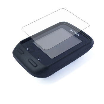 цена на Outdoor Cycling Silicone Rubber Protect Case + LCD Screen Film Protector For Garmin Edge 510