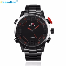 Hcandice Perfect New Mens Luxury Army Sport Wrist Watch Waterproof Analog Quartz Watches Oct27