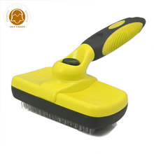 Grooming Brush Pet Deshedding Tool For Dogs Pets Slicker Brush Cat Dog Comb Brush Glove for Removing Hair From Domestic Animals pet hair deshedding dog cat brush comb sticky hair gloves hair fur cleaning for sofa bed clothe pets dogs cats cleaning tools
