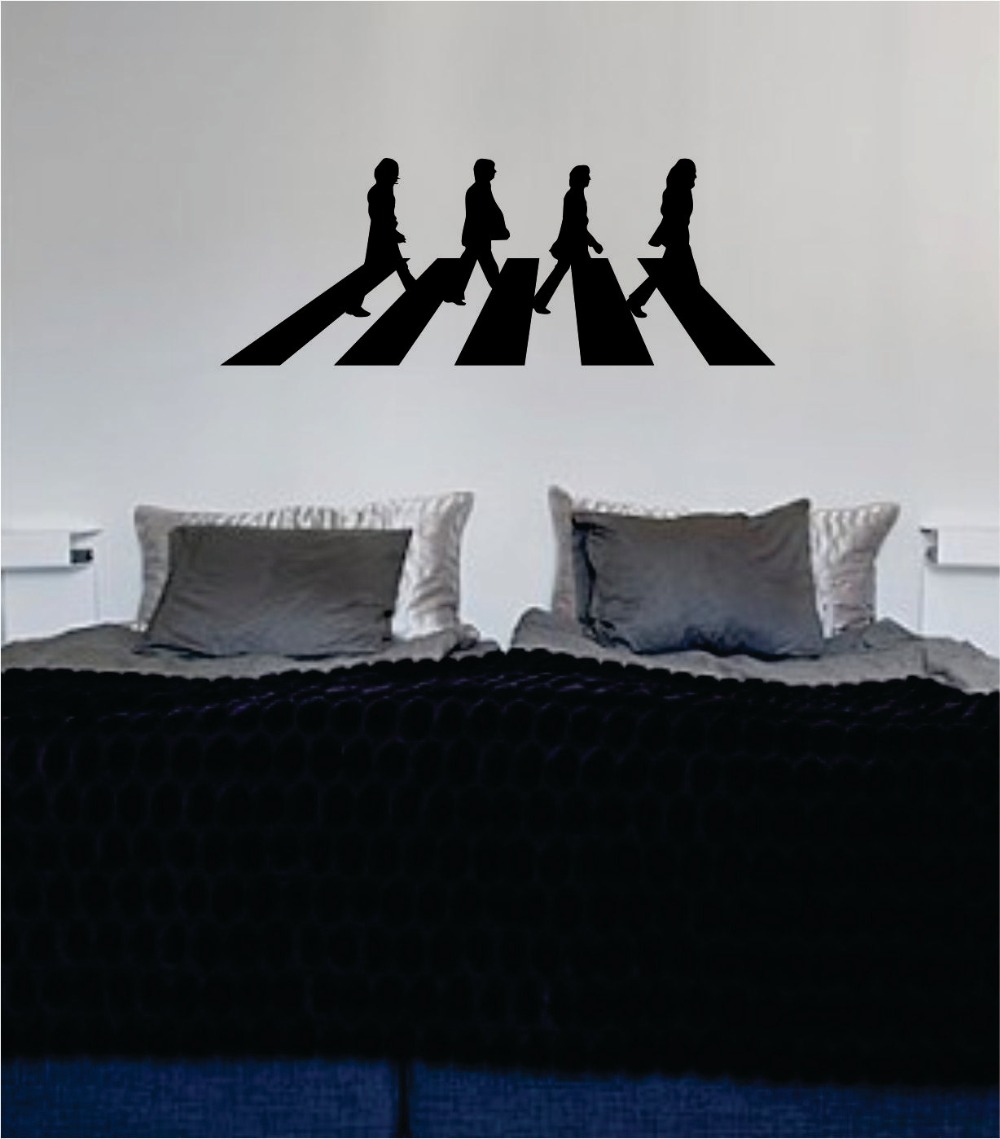 Abbey road beatles vinyl promotion shop for promotional for Abbey road wall mural
