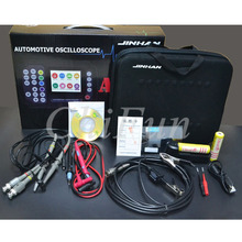 ADO104 автомобильный осциллограф, портативный цифровой осциллограф и цифровой мультиметр, осциллограф для ремонта автомобиля